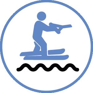 ski sports nautique suivez la vague